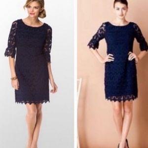 Lilly Pulitzer | Shayna Crochet Knit Floral Dress